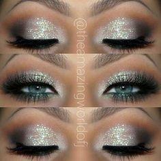 #glittereyemakeup