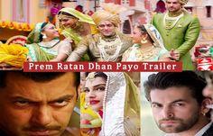 Salman-Sonam Ki #PremRatanDhanPayo Ka Tailer Hua Out Trailer Dekhne Ke Liye Click Kare:http://nyoozflix.in/bollywood-gossip/salman-sonam-ki-prdp-ka-tailer-out/