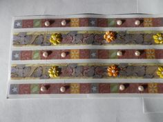 #Floral butterfly with flowers  cabochons #sheet stick on border #adhesive ribbon,  View more on the LINK: 	http://www.zeppy.io/product/gb/2/122287737278/