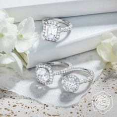 Oval, round, rectangles, oh my! Explore Tacori options at Miami Lakes Jewelers. #MiamiLakesJewelers #Tacori @MiamiLakesJewelers