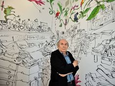 Quentin Blake opens House of Illustration gallery in London - News - Art - The Independent