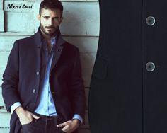 Marco Bocci wears a beautiful Fay total look.
