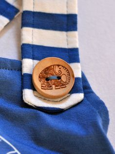 Mila Bamboo Pinafore Dress, Blue ele