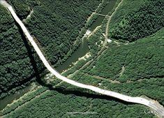 pont route google earth altitude relief 3d 11 Les ponts de Google Earth
