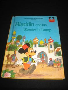 DISNEY'S WONDERFUL WORLD OF READING ALADDIN AND HIS WONDERFUL LAMP (1978)