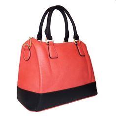 """NUALA"" COLORBLOCK satchel by lithyc"