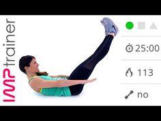 Esercizi Per Addominali e Core Stability Allenamento Completo - YouTube