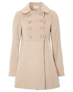 Formal Scallop Coat, £15.00 (polyester)