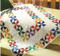 wind-gul-the-patterned blanket – crochet pattern Crochet Afghans, Crochet Quilt Pattern, Crochet Squares, Crochet Blanket Patterns, Crochet Motif, Crochet Blankets, Granny Squares, Scrap Crochet, Crochet Home
