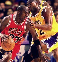 Legends collide!
