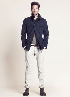 MNG - that Navy Parka