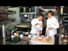 Quail with Daniel Boulud - YouTube tips for me... tasted just as lovely without the fig jam