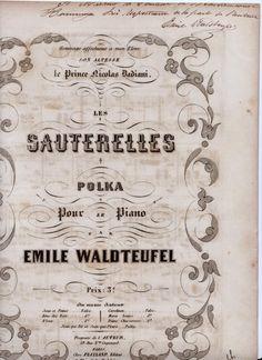 SPAZIO DELLA MUSICA 1 :VECCHIO SCARPONE: Centenario della morte di EMILE WALDTEUFEL (STRAUS...
