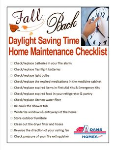 Spring Forward Fall Back Daylight Saving Time Facts