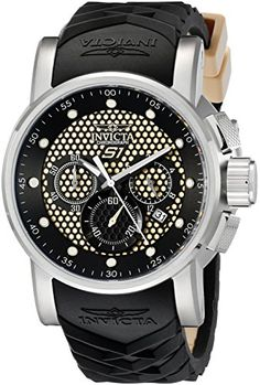 Men Invicta 12140 S1 S1 Rally Chronograph Stainless Steel Case Rubber Bracelet Y - http://uhr.haus/invicta/men-invicta-12140-s1-s1-rally-chronograph-steel-y