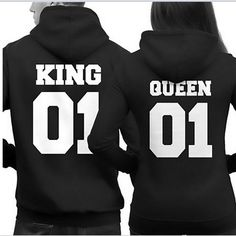 King and Queen Hoodies - Desire Wear