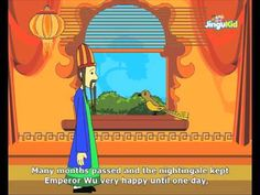 Fabulous Folk Tales - The Emperor And The Nightingale - Kids Animation Stories