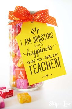 Are you looking for inexpensive teacher appreciation gift ideas? I've rounded up 10 thoughtful, inexpensive teacher appreciation gift ideas to show your child's classroom teacher… Teachers Day Gifts, Presents For Teachers, Daycare Teacher Gifts, Gift Ideas For Teachers, Classroom Teacher, Student Teacher, Simple Teacher Gifts, Mentor Teacher Gifts, Coach Presents