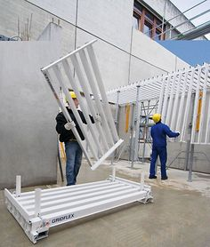 The flexible slab formwork with safe accessible grid elements Concrete Forms, Flexibility, Grid, Building, Fun, Back Walkover, Buildings, Construction, Hilarious