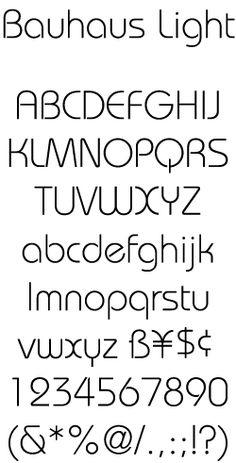 Bowfin Printworks - Font Identification - Type Samples - Bauhaus-style - Round Sans