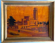 Dutch Applied Arts - Dudok Counsel building Hilversum | Catawiki Online Auctions