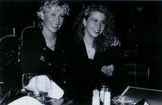 Agnetha and her daughter Linda Elin Ulvaeus ( born 1971 )