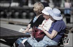 Three lovely old ladies :-)