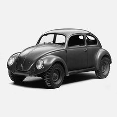 The Volkswagen Kommandeurwagen was a 4×4 Beetle produced in Germany during the second world war.