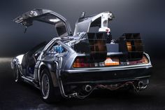 Um DeLorean em Portugal! Está na Comic Con (Exponor) até domingo.