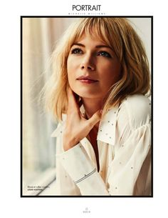 Elle France, 30 October 2015 Michelle Williams by Cedric Buchet