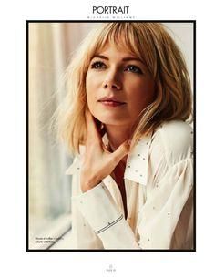 Elle France, 30 October 2015 Michelle Williams by Cedric Buchet