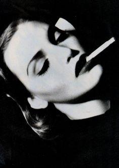 Nadja Auermann by Friedemann Hauss, 1992