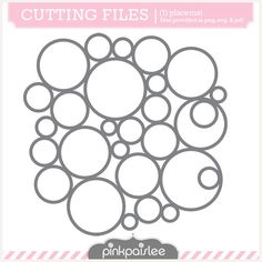 Circles Cut files by PInk Paislee Free Svg, Image Font, Iris Folding, Silhouette America, Silhouette Portrait, Silhouette Cameo Projects, Stencil Designs, Machine Quilting, Background Patterns