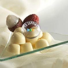 Cómo hacer bombón de frambuesa. Los bombones son un rico postres para compartir con familia, amigos y con la pareja. Receta de cómo hacer bombones relleno