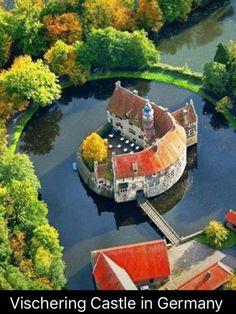 Vischering Castle, Lüdinghausen, North Rhine-Westfalia