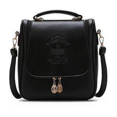 1e519b9f8ae2 SUNNY SHOP Summer Lady Pretty Korean Vintage Women Shoulder Bag Fresh  Students School Bag Women Messenger · Leather Crossbody ...
