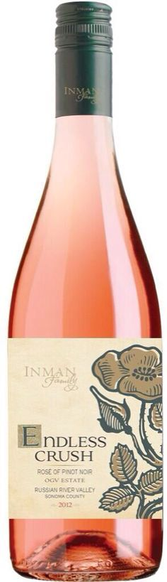 Inman Family 2014 Endless Crush Rosé of Pinot Noir Russian River Valley ($25) - Google Search