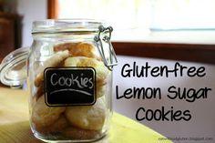 Eat Without Gluten: Gluten-free Lemon Sugar Cookies