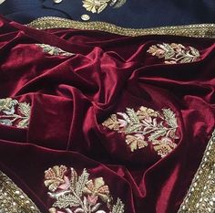 Beautiful Hand Embroidered Velvet Shawl with heavy Dabka border.Can customize in any color.Call or DM 📲for price🎀💐 Indian Attire, Indian Wear, Pakistani Outfits, Indian Outfits, Velvet Shawl, Indian Fashion, Womens Fashion, Desi Clothes, Indian Designer Wear