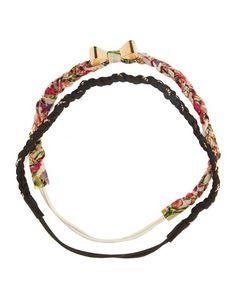 Chain Braid Headwrap Duo: Charlotte Russe