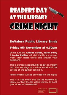Louise Phillips Writer: Crime Night - Readers Day at the Library! Crime Fiction, Writer, How To Get, Events, Night, Reading, Day, Writers, Reading Books