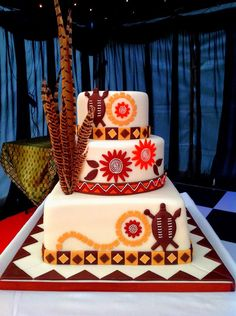 Pastel de Boda Cake World Shop # boda tradicional # tradicional # boda # pasteles African Wedding Cakes, African Wedding Theme, African Theme, Zulu Traditional Wedding, Traditional Cakes, Themed Wedding Cakes, Themed Cakes, Africa Cake, Cupcake Cakes