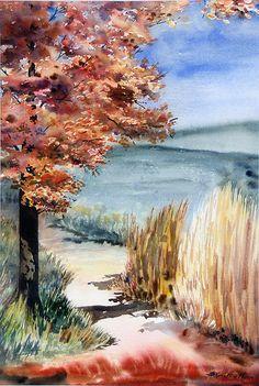 Gorgeous watercolor artwork!