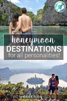 Romantic Getaways & Honeymoon Destinations For Every Type of Travel Honeymoon Destinations for All Personalities: Why not skip the expensive all-inclusive resorts and go on a honeymoon that is just right for you and your love! All Inclusive Honeymoon, Romantic Honeymoon Destinations, Honeymoon Places, All Inclusive Resorts, Romantic Getaways, Romantic Travel, Travel Destinations, Honeymoon Ideas, Travel Tips