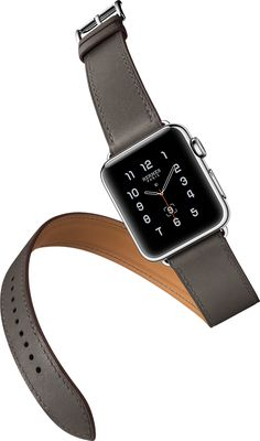 "The Apple Watch Hermès ""Double Tour"" in Noir"