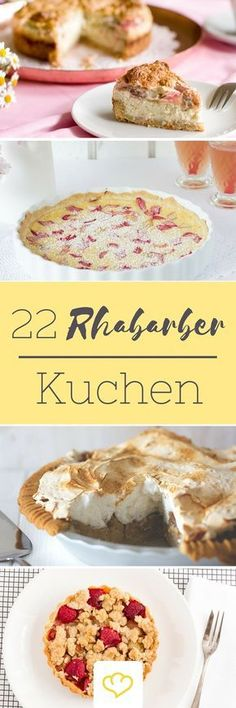 Für alle Rhabarber-Fans und die, die es werden wollen! Die 22 leckersten Rhabarber Rezepte von deutschen Food-Bloggern
