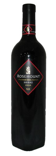 One of my fave wines: Rosemount shiraz - fantastic wine for the price