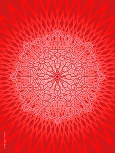Sacred Geometry Mandala Root Chakra