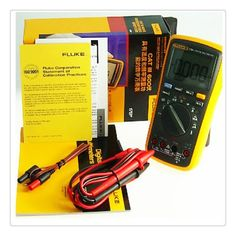 FLUKE - 17B+ High Performance Digital Meter DMM Electrical AC / DC / Temperature / Frequency / Capacitance etc. Tester #hats, #watches, #belts, #fashion, #style
