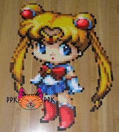 sailor moon perlers - Google Search